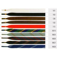 Ringelspitz Flachsenkel 9 mm schwarz 150 cm