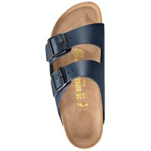 BIRKENSTOCK Arizona Naturleder blau normal Form 36