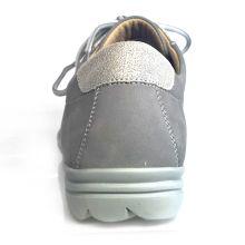 Hartjes XS Damen Sneakers grau Nubuk