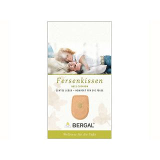 Bergal Fersenkissen Leder